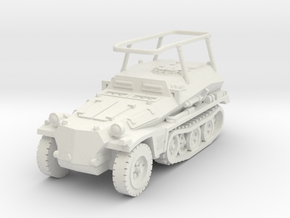 Sdkfz 253 Radio 1/87 in White Natural Versatile Plastic