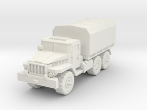 Ural-375 1/87 in White Natural Versatile Plastic