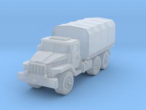 Ural-375 1/87 in Smooth Fine Detail Plastic