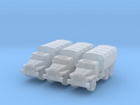 Ural-375 (x3) 1/220 in Smooth Fine Detail Plastic