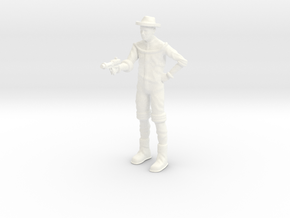 Lost in Space - 1.35 - Jimmy Hapwood with Gun in White Processed Versatile Plastic