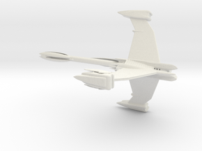 ISA Excalibur Destroyer Class Whitestar 220mm in White Natural Versatile Plastic