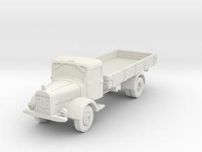 Mercedes L4500 A 1/56 in White Natural Versatile Plastic