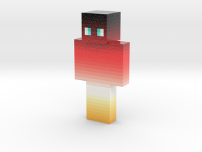 sushi_Q   Minecraft toy in Glossy Full Color Sandstone