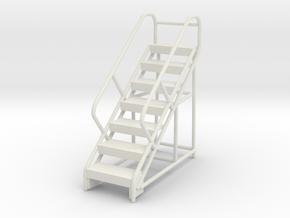 Warehouse Ladder 1/48 in White Natural Versatile Plastic