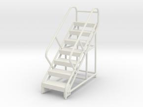 Warehouse Ladder 1/35 in White Natural Versatile Plastic