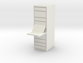 Computer Server 1/64 in White Natural Versatile Plastic