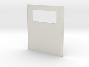 King Hauler Daycab Panel, Small Window in White Natural Versatile Plastic
