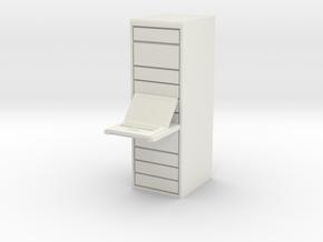 Computer Server 1/24 in White Natural Versatile Plastic