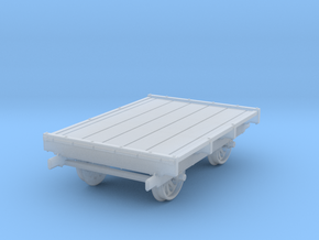 HOn3 Scale Sheffield No 32 Narrow Gauge Pushcar in Smooth Fine Detail Plastic