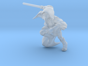 Charging Knight in Smooth Fine Detail Plastic
