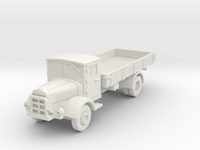 Mercedes L4500 S 1/56 in White Natural Versatile Plastic