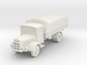 Mercedes L4500 S (covered) 1/100 in White Natural Versatile Plastic