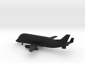 Airbus Beluga A300-600ST in Black Natural Versatile Plastic: 1:700