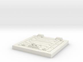 Wooden Trapdoor 1/43 in White Natural Versatile Plastic