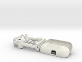 Vario EC-135 Winch 1/7 Scale in White Natural Versatile Plastic