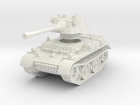 Panzer II L Puma turret 1/87 in White Natural Versatile Plastic