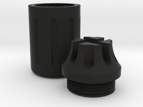[Airsoft] PWS CQB style tracer unit housing  in Black Natural Versatile Plastic