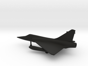 Dassault Mirage 2000 in Black Natural Versatile Plastic: 1:200