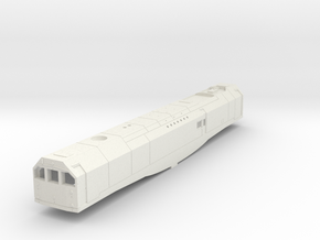 00 Scale Bulleid Leader Scratch Aid - Body in White Natural Versatile Plastic