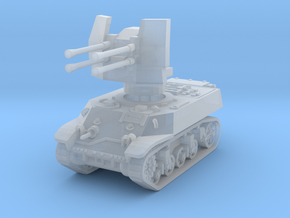 M3A3 with Flakvierling 38 1/200 in Smooth Fine Detail Plastic