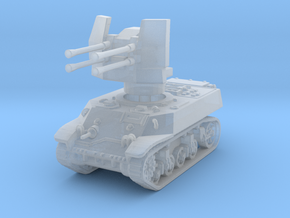 M3A3 with Flakvierling 38 1/285 in Smooth Fine Detail Plastic