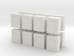 Fire Hose Box (x16) 1/100 in White Natural Versatile Plastic