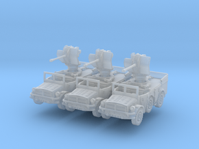 Horch 108 AA (Flak 38) (window up) (x3) 1/285 in Smooth Fine Detail Plastic