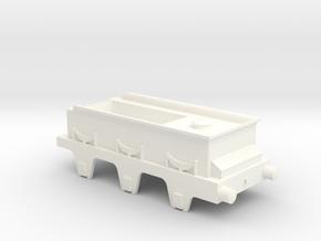 Jenny Lind tender  in White Processed Versatile Plastic