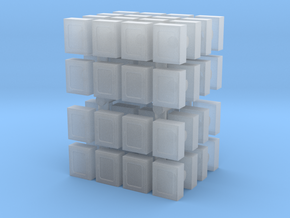 Fire Hose Box (x64) 1/285 in Smooth Fine Detail Plastic