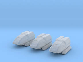 Type 6 Shuttle 1/1000 x3 in Smooth Fine Detail Plastic