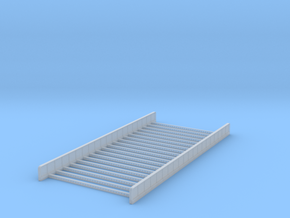 Dual Track Plate Girder Bridge - Zscale in Smooth Fine Detail Plastic