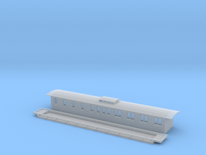 BCo2 - Swedish passenger wagon in Smooth Fine Detail Plastic
