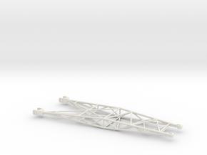 SX_Z_tension frame  in White Natural Versatile Plastic