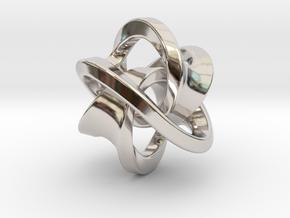 Soliton Pendant in Platinum: Large
