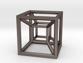 Hypercube A in Stainless Steel