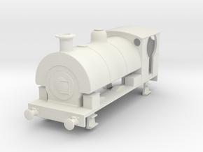 b-76-metropolitan-peckett-0-6-0-loco in White Natural Versatile Plastic