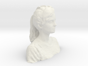 Model Mesh in White Natural Versatile Plastic