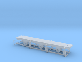 812 / 652 Tender 3000 Gallon - 00 Chassis in Smooth Fine Detail Plastic