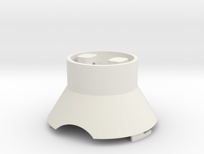 Life3D Weather Balloon Capsule - Top Section in White Natural Versatile Plastic