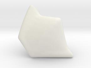 PInk Slayer Shoulder FA in White Natural Versatile Plastic