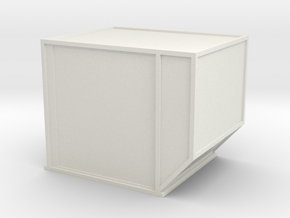 AKE Air Container (closed) 1/43 in White Natural Versatile Plastic
