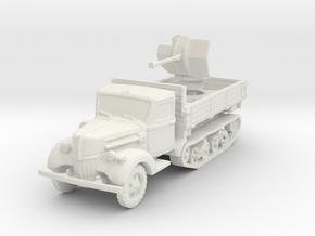 Ford V3000 Maultier Flak 38 early 1/120 in White Natural Versatile Plastic