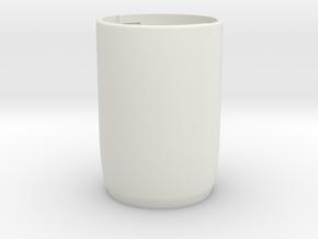 Share-screw | PART2 - BODY in White Natural Versatile Plastic