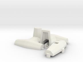 1:50 Dolos 3m mould kit in White Natural Versatile Plastic
