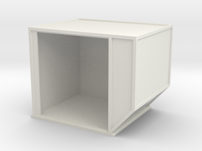 AKE Air Container (open) 1/24 in White Natural Versatile Plastic