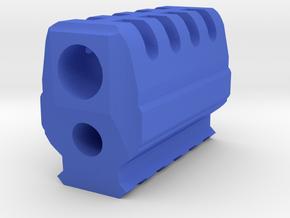 J.W. Compensator V4 (12mm Self-Cutting) for P226 in Blue Processed Versatile Plastic