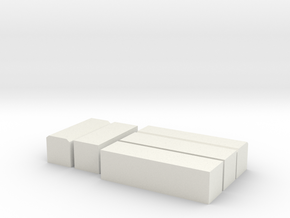 NGS containers in White Natural Versatile Plastic