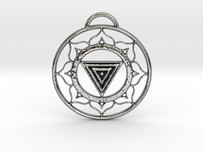 Goddess Kali Yantra in Antique Silver