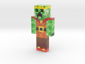 received_383790529000406 | Minecraft toy in Glossy Full Color Sandstone